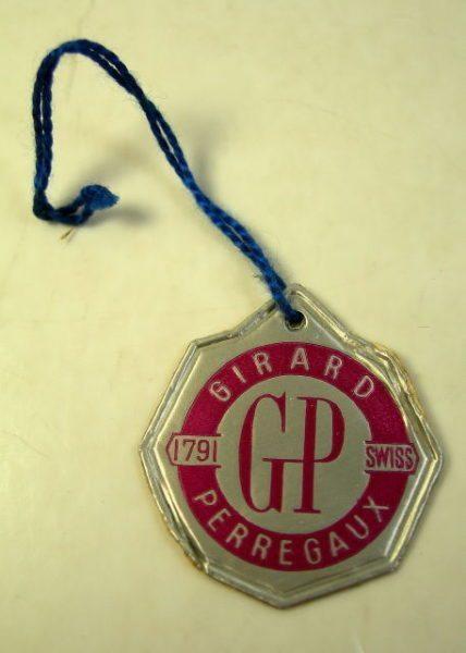 GIRARD PERREGAUX cartellino anni '60 – '70 1