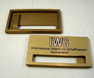 IWC cartellino/tag per orologi d'epoca
