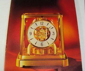 JAEGER LE COULTRE ATMOS catalogo anni '70 - '80