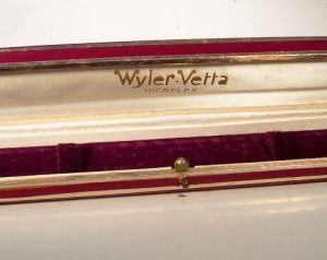 scatola WYLER VETTA per orologi femminili anni '50 - '60