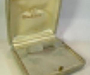 OMEGA rara scatola anni '50 - inusata